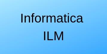 Informatica ILM Training