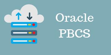 Oracle PBCS Training