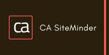CA SiteMinder Training