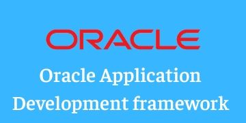 Application Development Framework(ADF) TRAINING