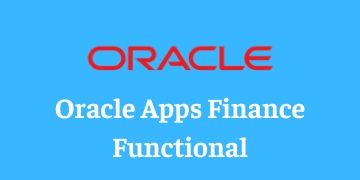 ORACLE APPS FINANCE FUNCTIONAL