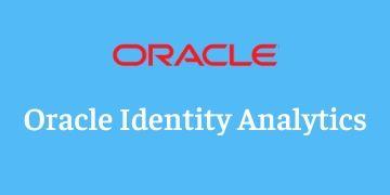Oracle Identity Analytics Training
