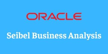 SIEBEL BUSINESS ANALYST TRAINING