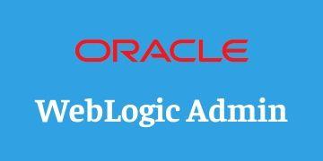 Weblogic Admin Training