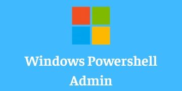 Windows PowerShell Admin Training